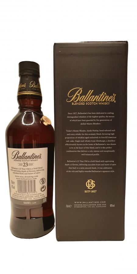 Ballantine's 23-year-old