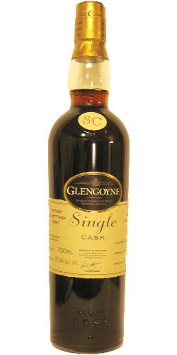 Glengoyne 1991 Claret Finish