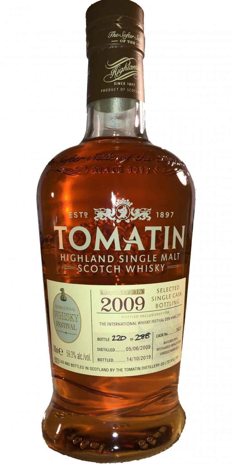 Tomatin 2009 Single Cask