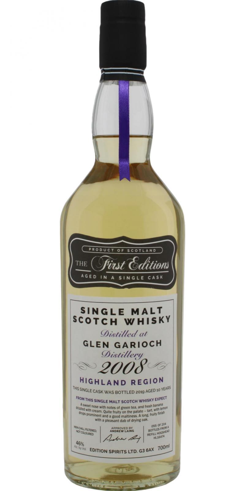 Glen Garioch 2008 ED