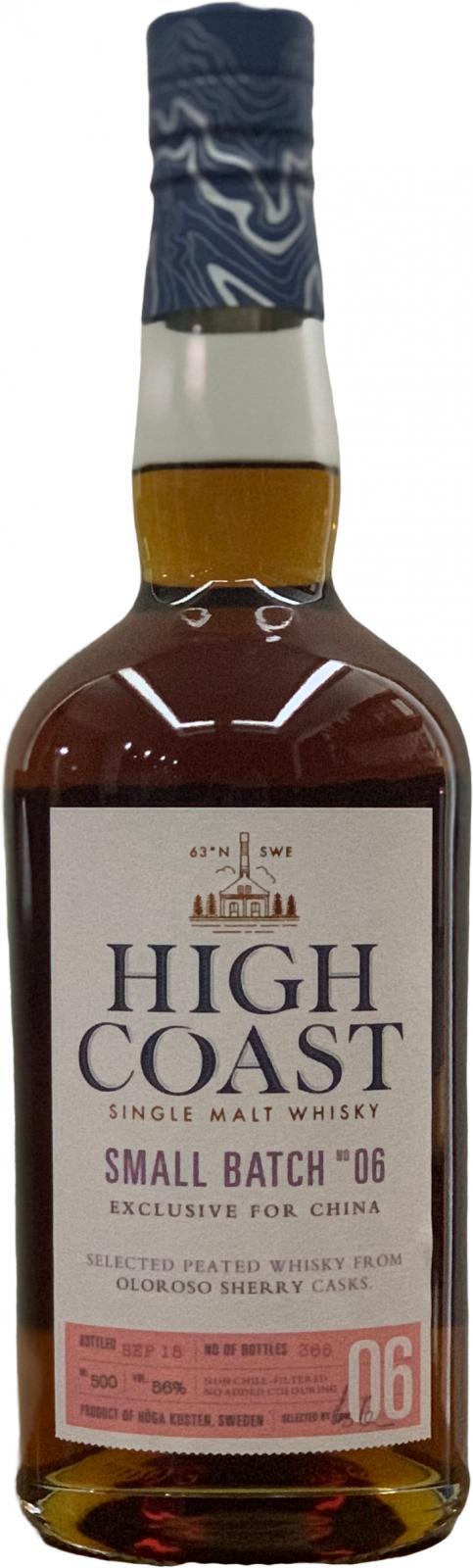 High Coast Small Batch No 6
