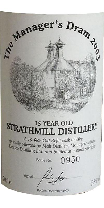 Strathmill 15-year-old