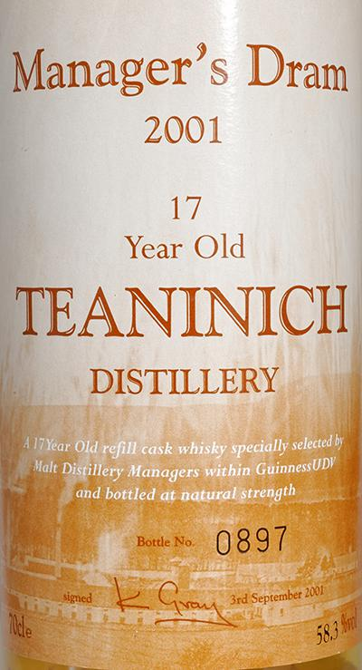 Teaninich 17-year-old