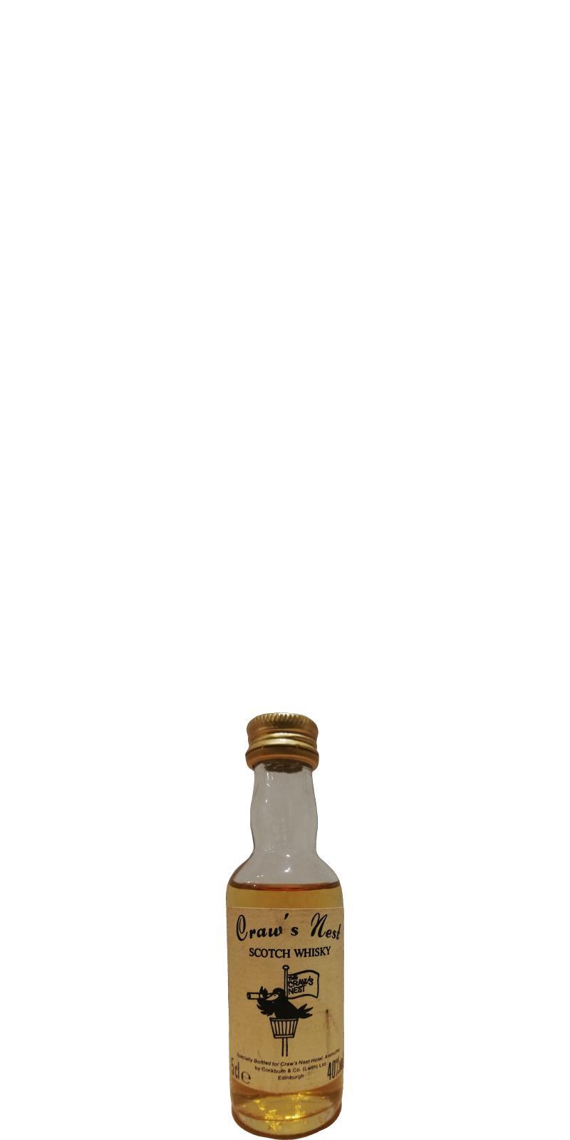 Craw's Nest Scotch Whisky