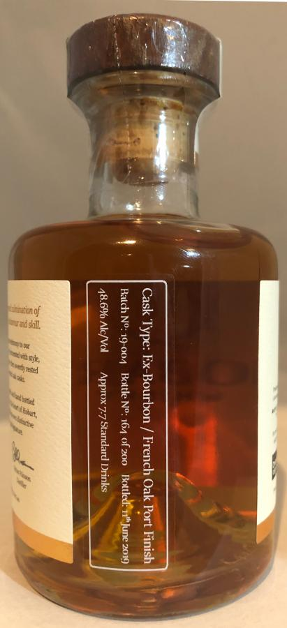Hobart Whisky Tasmanian Single Malt