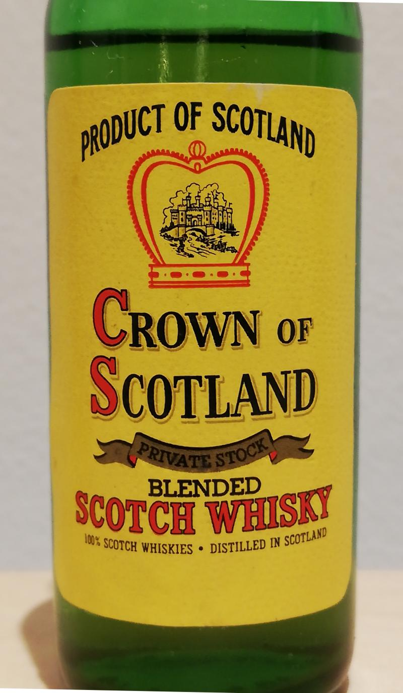 Crown of Scotland Blended Scotch Whisky