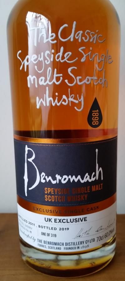 Benromach 2011