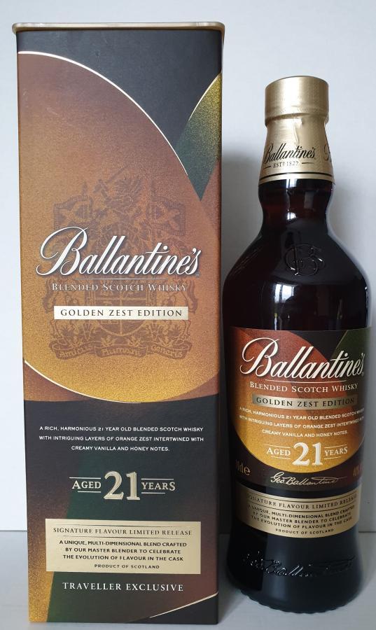 Ballantine's Golden Zest Edition