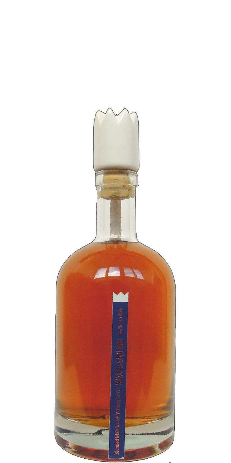 Blended Malt Scotch Whisky King&Mouse 21-year-old