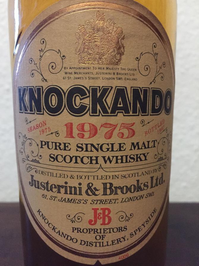 Knockando 1975
