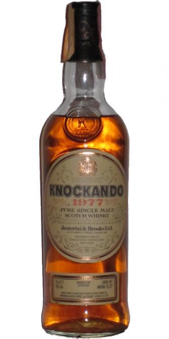 Knockando 1977