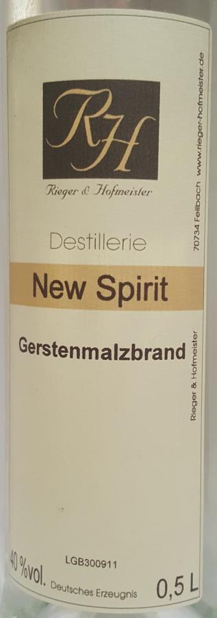 Rieger und Hofmeister New Spirit