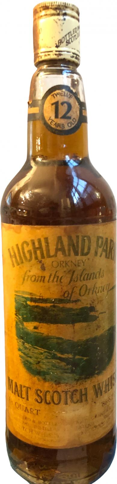 Highland Park From the islands of Orkney