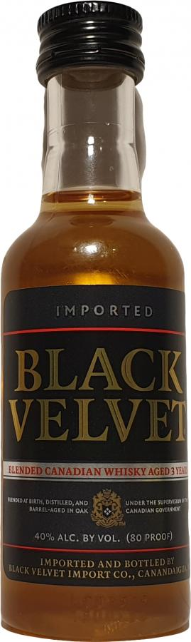 Black Velvet Blended Canadian Whisky
