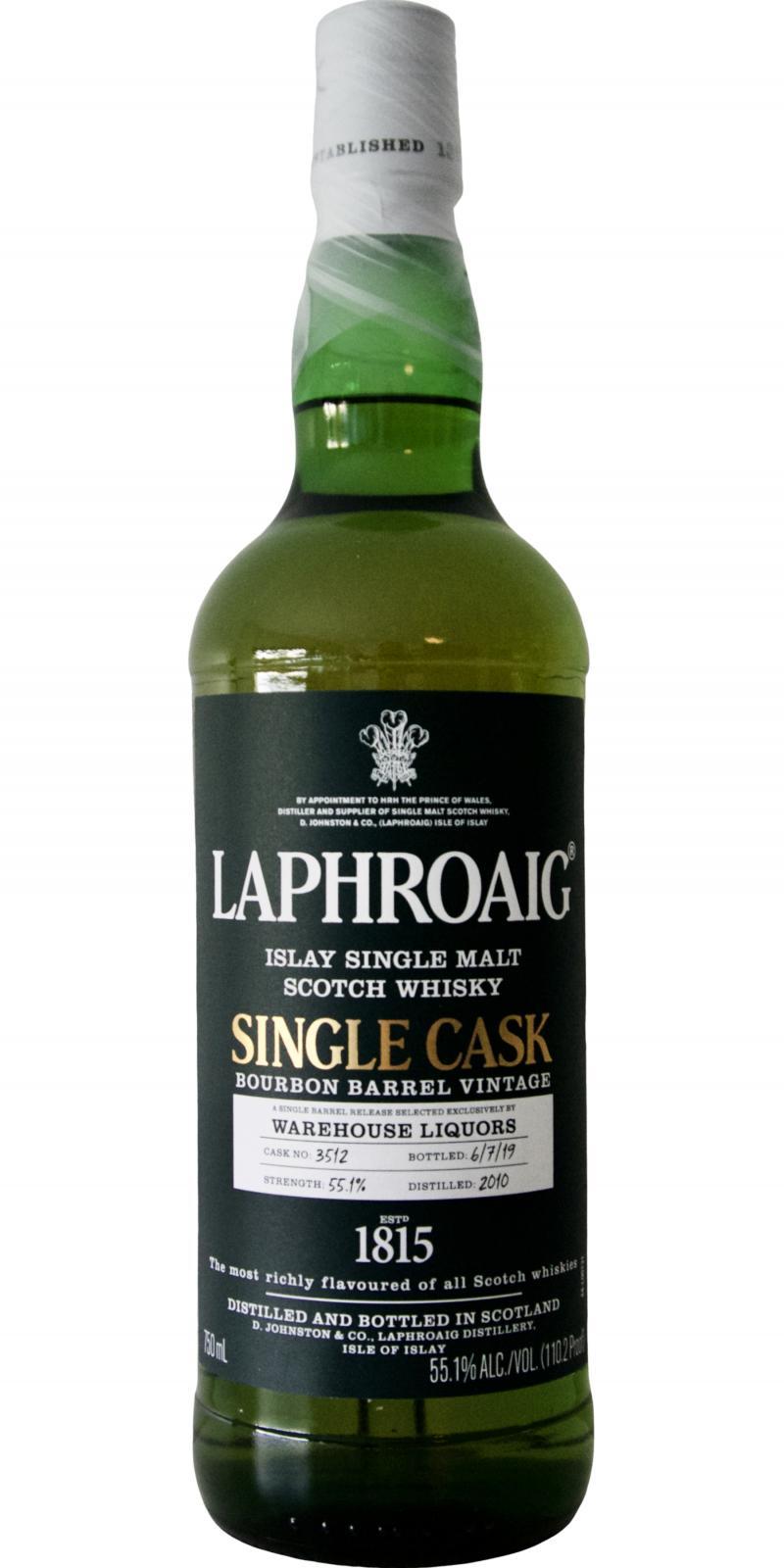 Laphroaig 2010