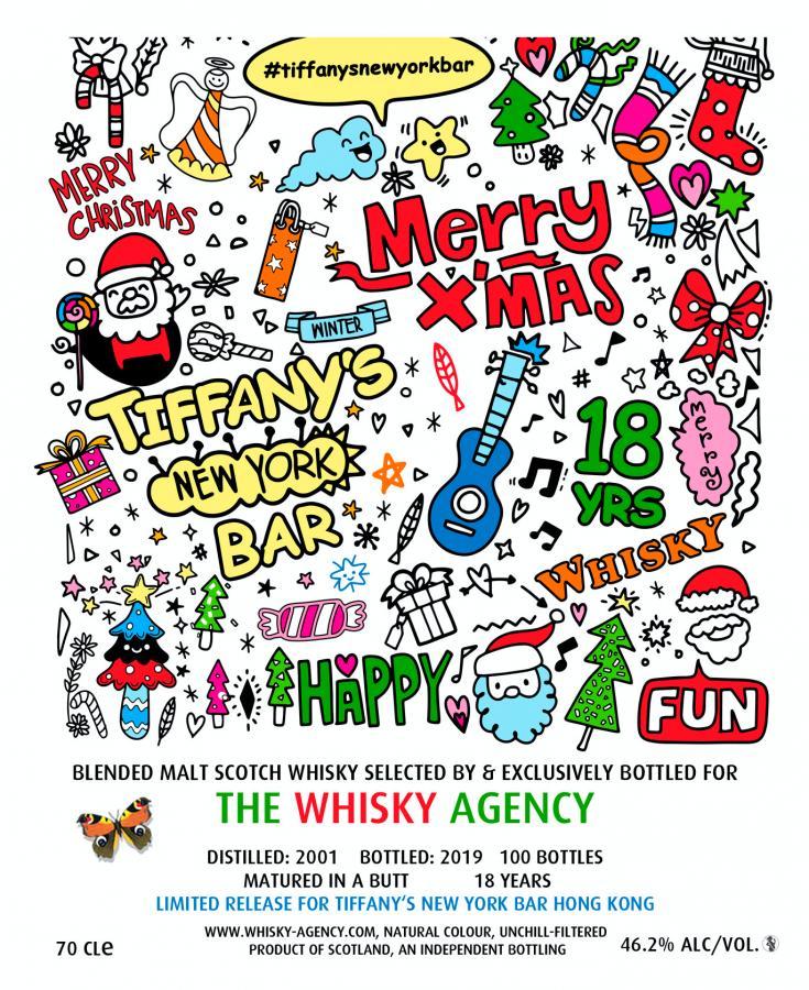 Blended Malt Scotch Whisky 2001 TWA