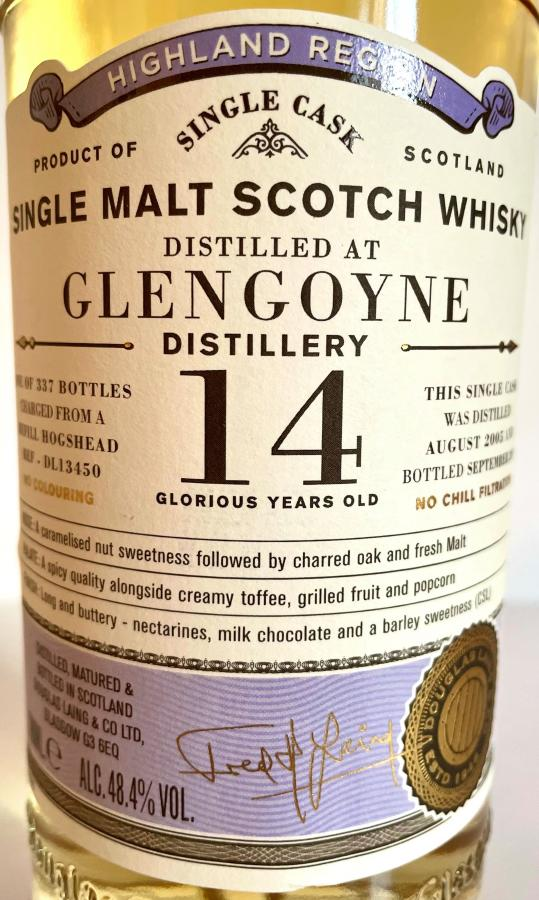 Glengoyne 2005 DL