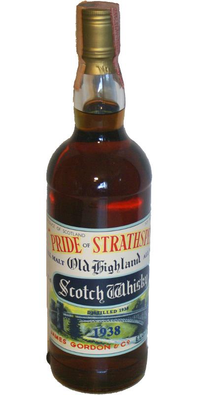 Pride of Strathspey 1938 JG