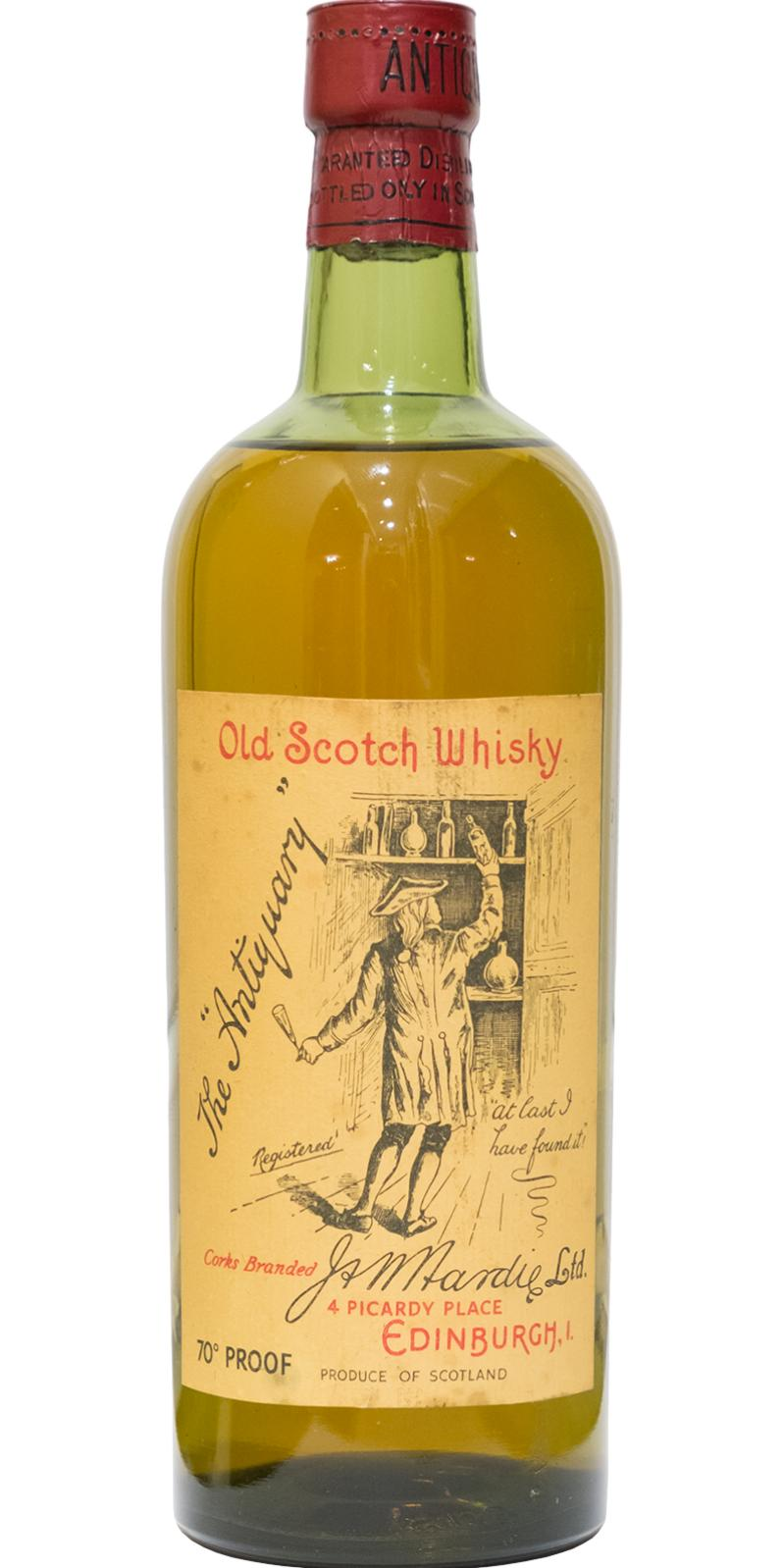 The Antiquary Old Scotch Whisky
