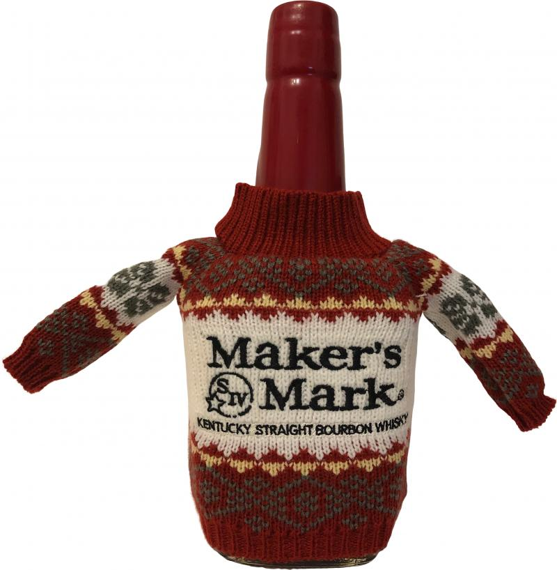 Maker's Mark Red Seal with Christmas Jumper