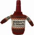 Maker's Mark Red Wax with Christmas Jumper