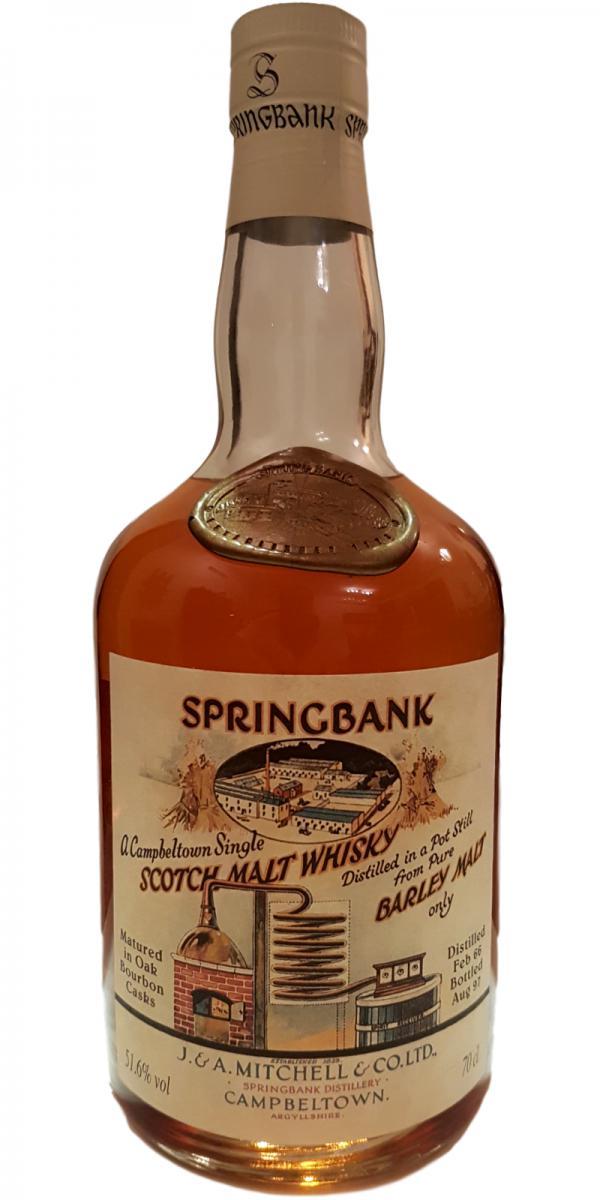 Springbank 1966