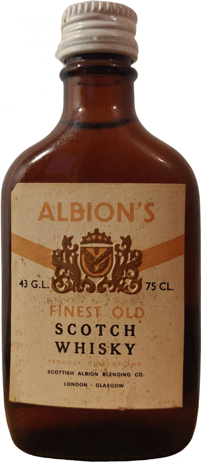 Albion's Finest Old Scotch Whisky