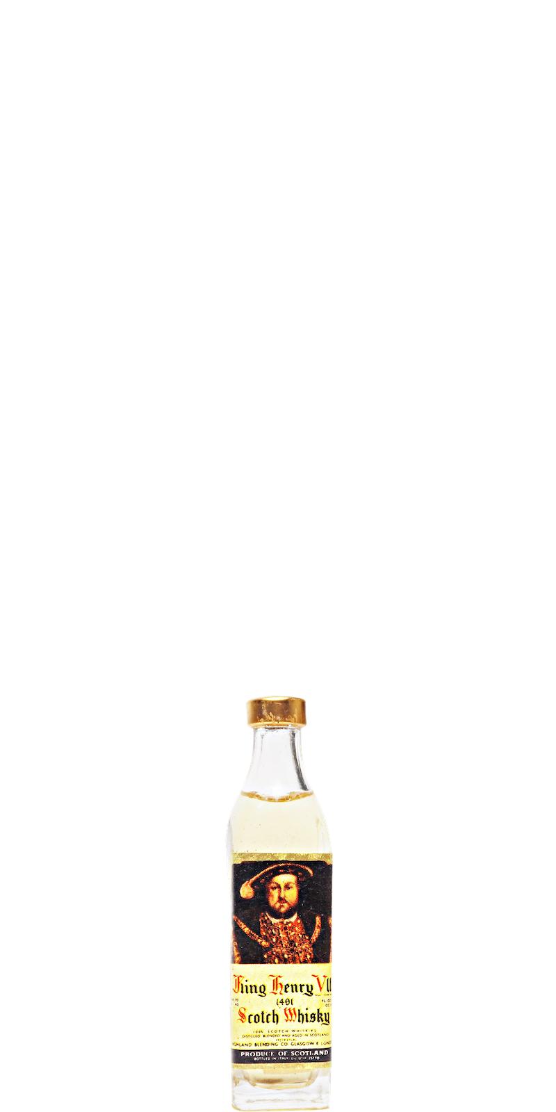 King Henry VIII Scotch Whisky