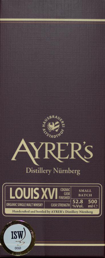 Ayrer's LOUIS XVI