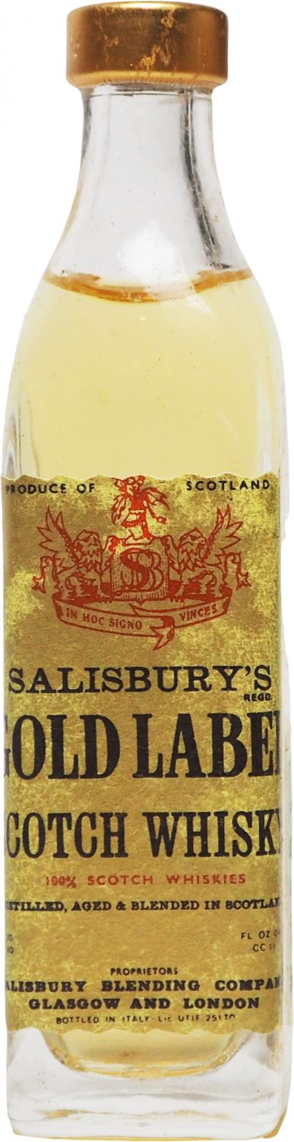 Salisbury's Gold Label