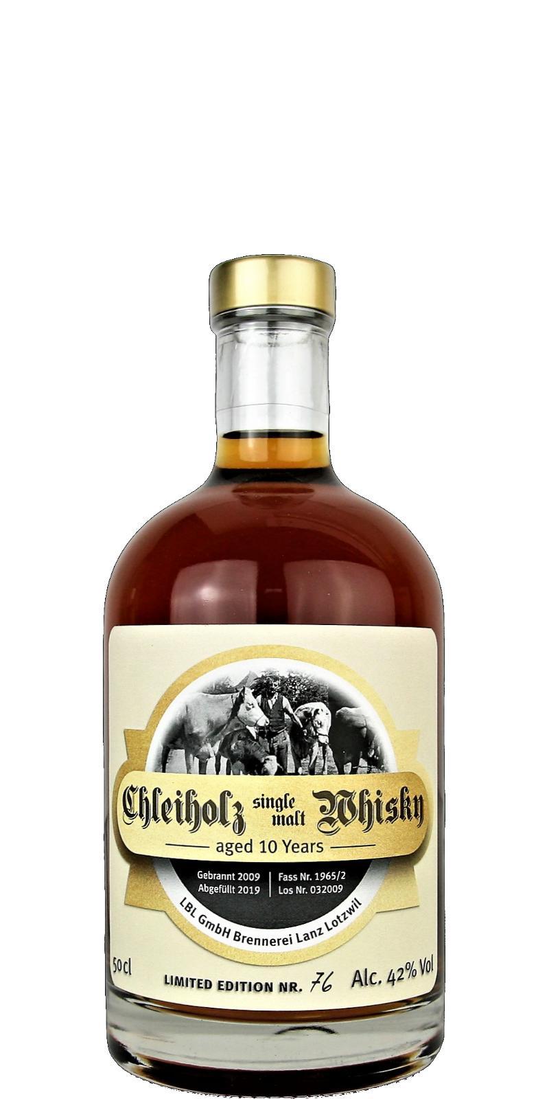 Chleiholz Whisky 2009