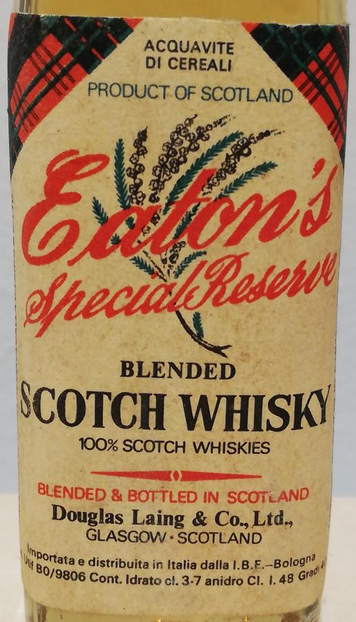 Eaton's Blended Scotch Whisky DL