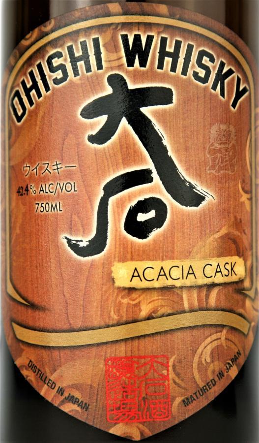 Ohishi Whisky Acacia Cask