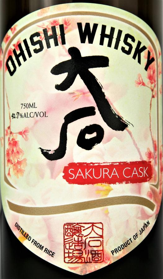 Ohishi Whisky Sakura Cask