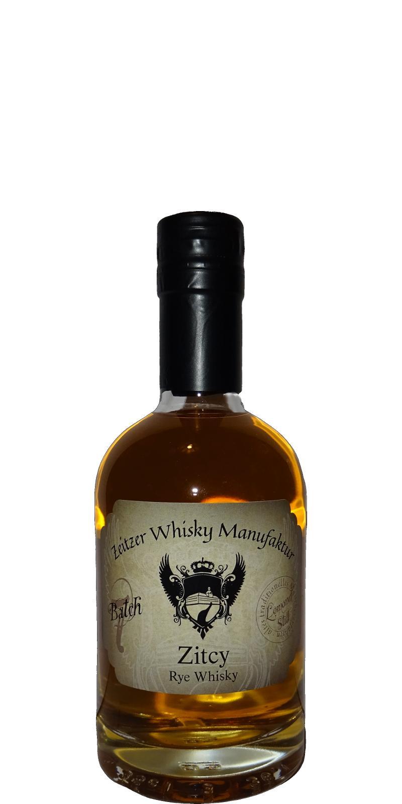 Zitcy Rye Whisky