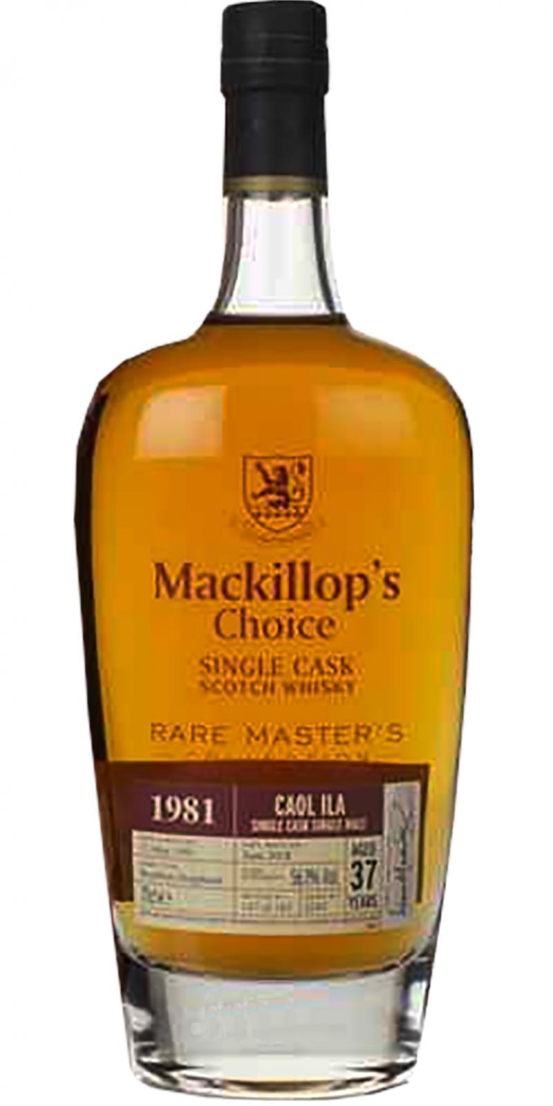 Caol Ila 1981 McC