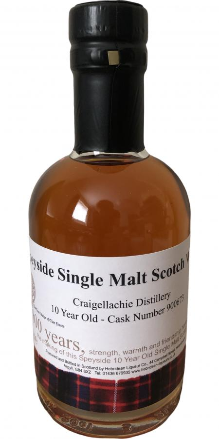 Craigellachie 10-year-old THLC
