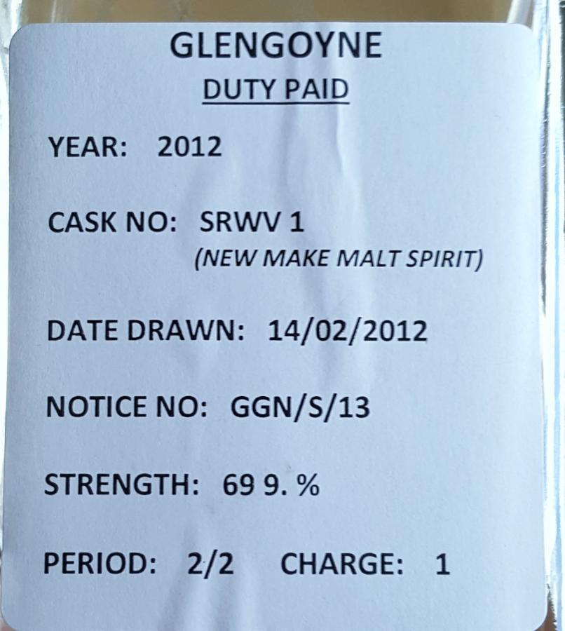 Glengoyne 2012