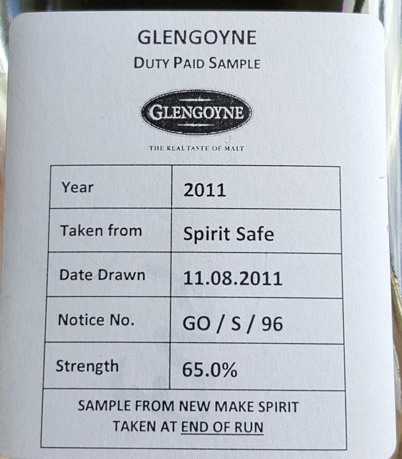 Glengoyne 2011