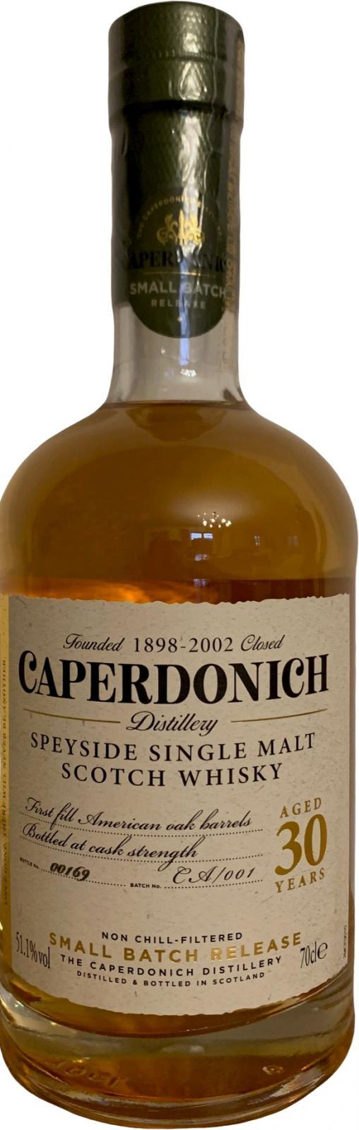 Caperdonich 30-year-old