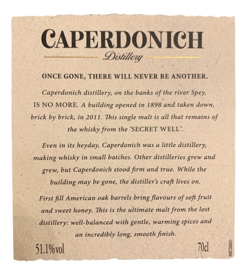 Caperdonich 30-year-old