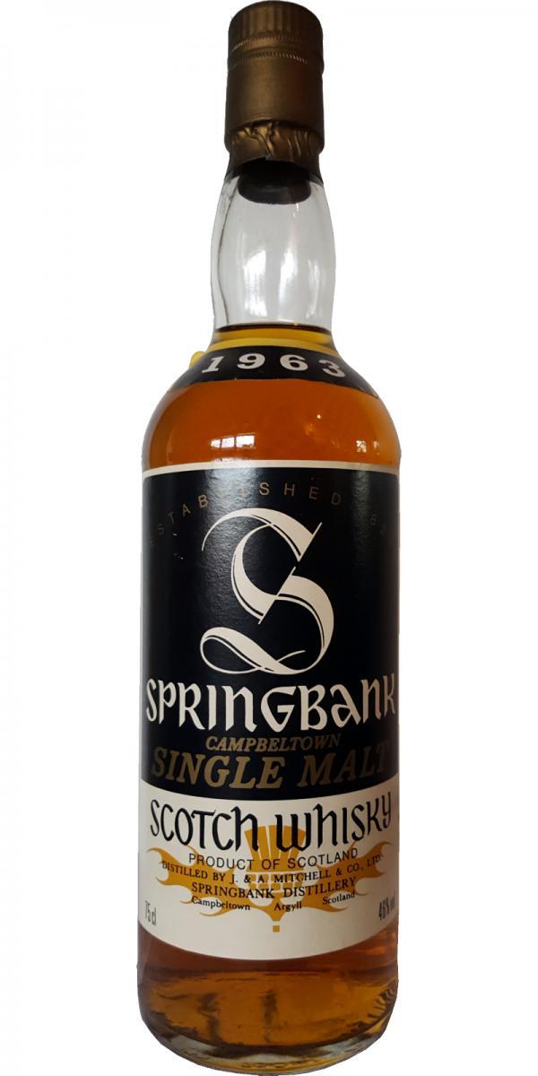 Springbank 1963