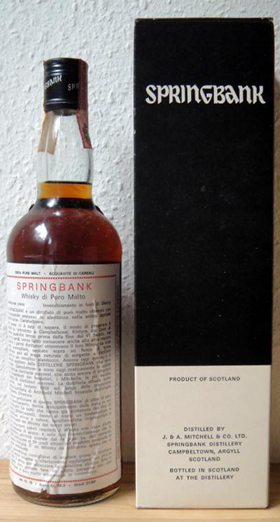 Springbank 1972