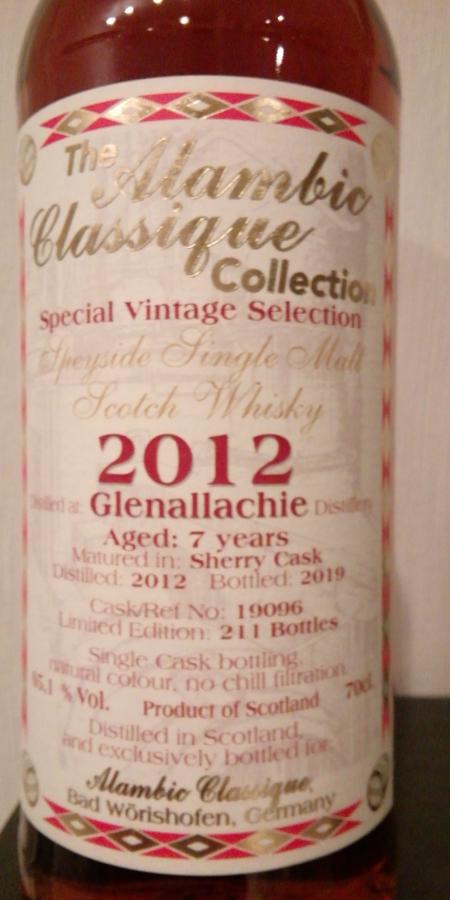 Glenallachie 2012 AC
