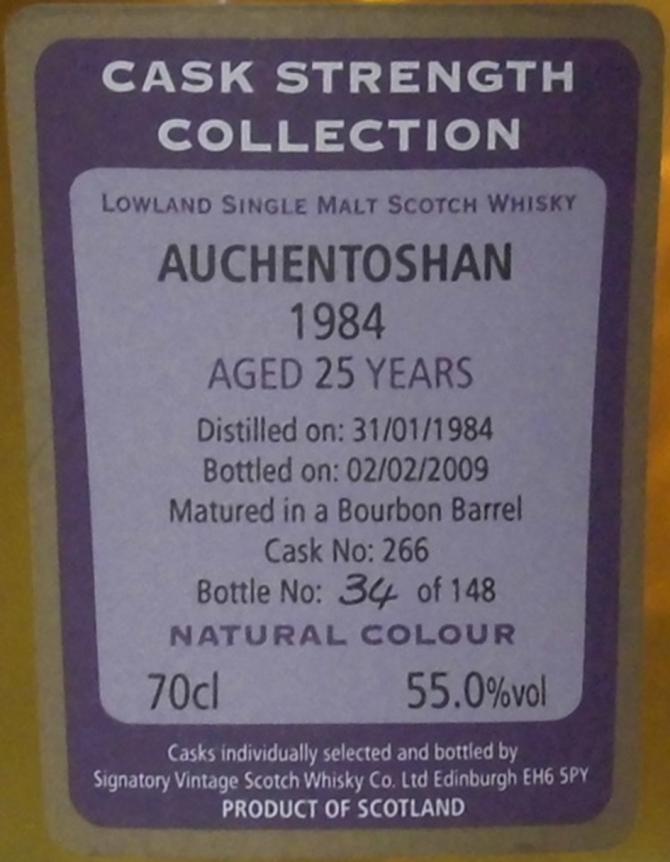 Auchentoshan 1984 SV