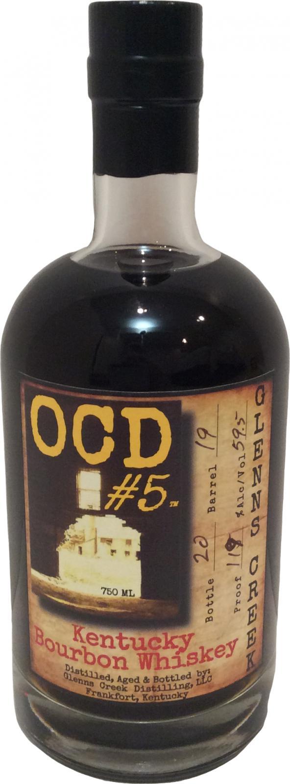OCD #5 Kentucky Bourbon Whiskey