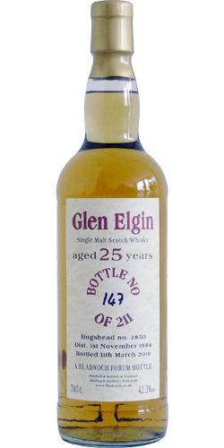 Glen Elgin 1984 BF