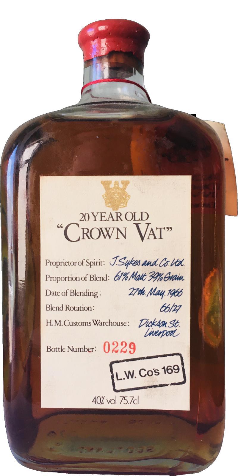 Crown Vat 20-year-old