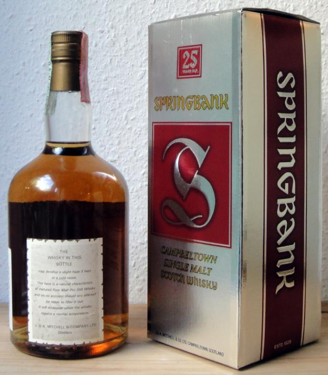 Springbank 25-year-old Archibald Mitchell