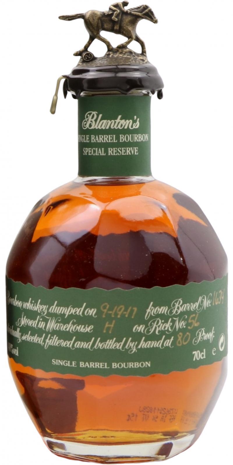 Blanton's Single Barrel